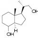 (1R,3AR,7AR)-1-((S)-1-羟丙基-2-基)-7A-甲基八氢-1H-茚-4-醇 CAS号 185997-26-6 结构式