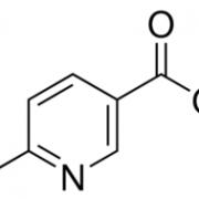 6-氯烟酸 CAS号 5326-23-8 结构式