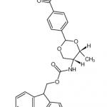Fmoc-L-苏氨酸对羧基苯缩醛 CAS号 205109-16-6 结构式