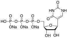 尿苷-5'-三磷酸钠盐 CAS 1175-34-4 结构式