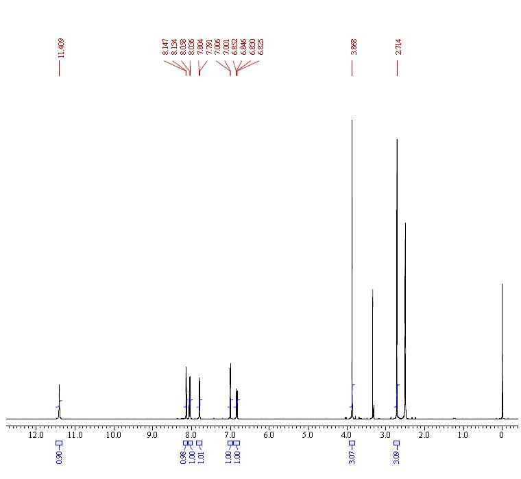 骆驼蓬碱 CAS号 442-41-3 核磁图谱