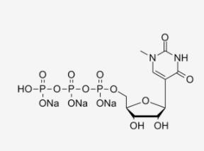 N1-甲基-假尿苷 5'-三磷酸 (UTP),三钠盐溶液 CAS UENA-0196 结构式